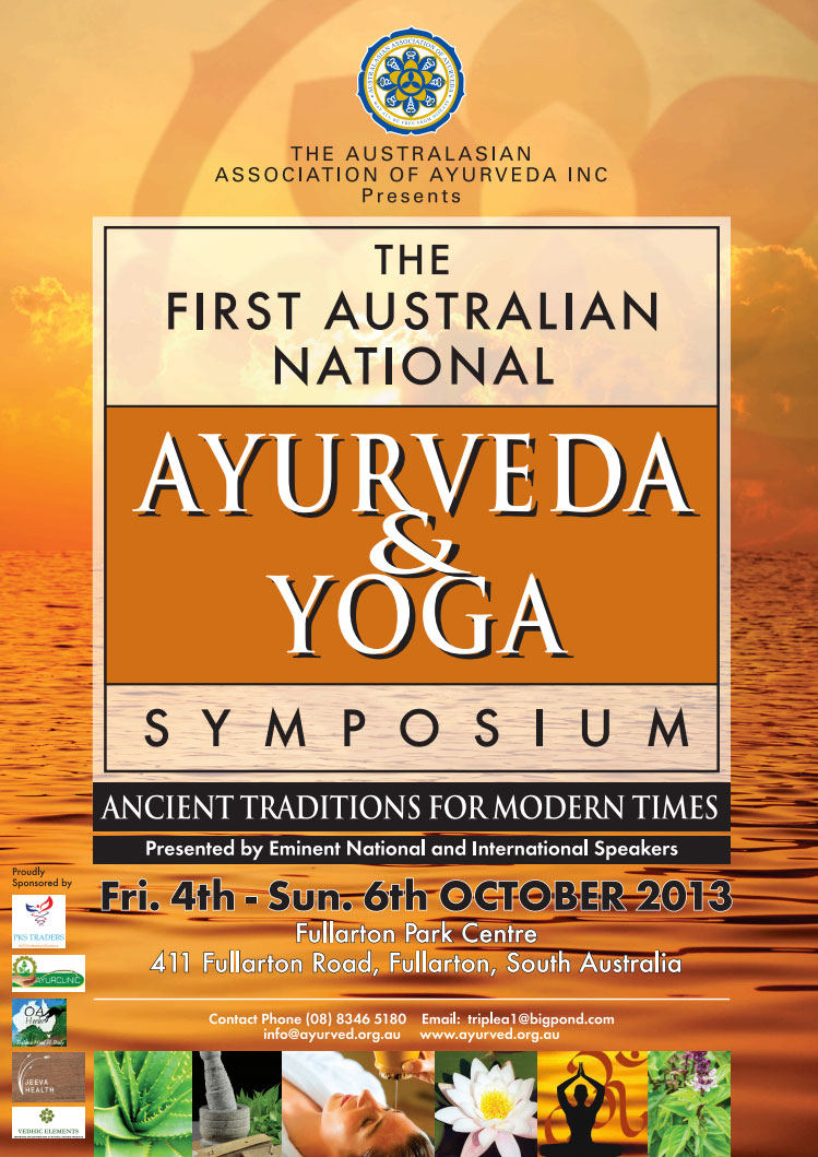 Australian National Symposium of Ayurveda & Yoga