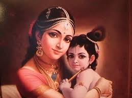 Krishna and Mum