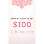 Lakshmi Ayurveda Gift Certificate – $100