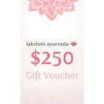 Lakshmi Ayurveda Gift Certificate – $250