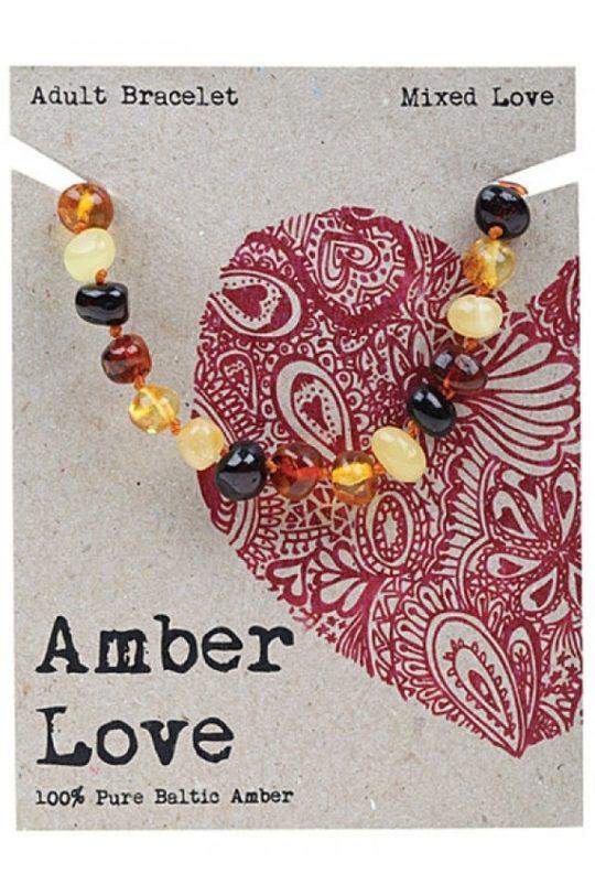 aber, love, mixed, adult bracelet