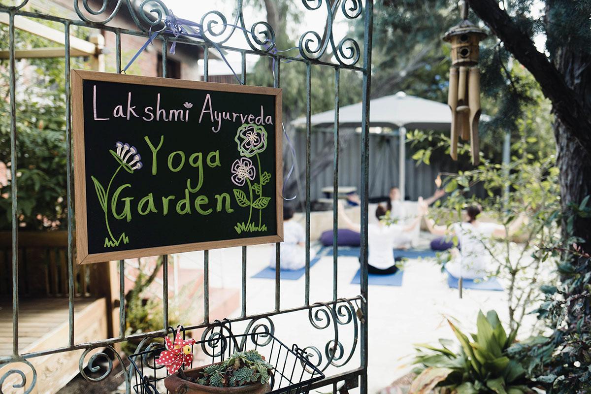 Lakshmi Ayurveda yoga garden